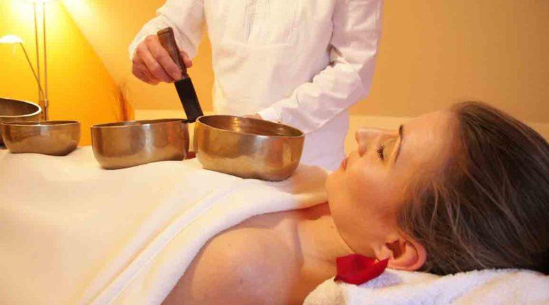 Tibetan Singing Bowl Massage