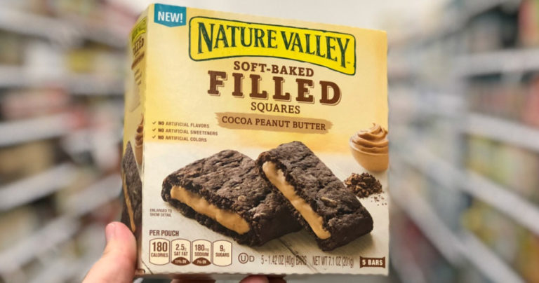 Nature Valley Oatmeal Squares 5-Count Only $2 Shipped on Amazon