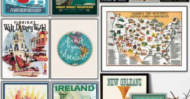 Vintage Travel Prints – Only $3.87!F2D